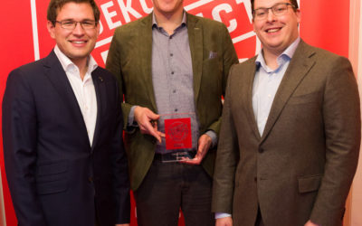 "Whirlpool's FreshCare+ washing machine receives ""Product of the Year 2019"" in the Netherlands"