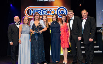 Whirlpool UK wins the Business Excellence Award at the 2019 Motor Transport Awards