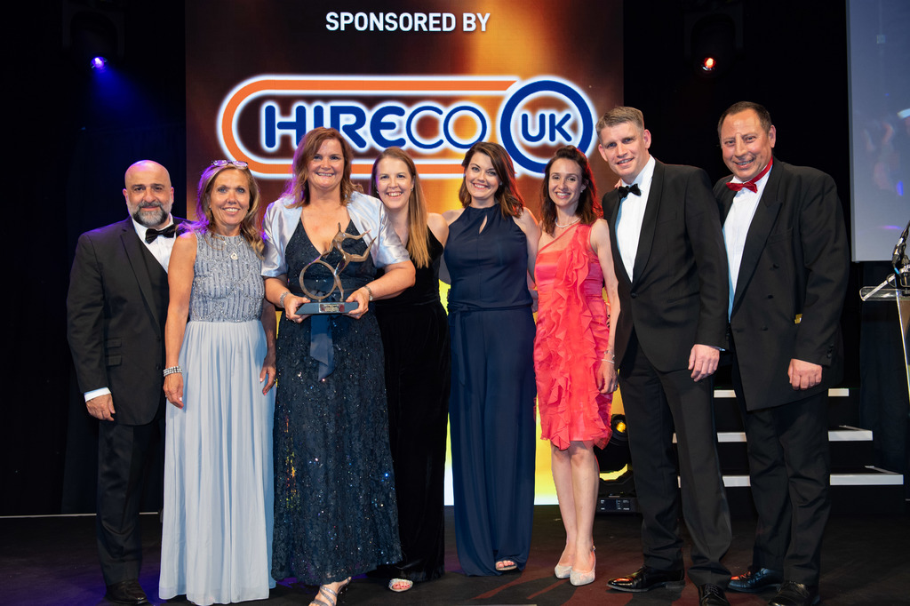 Whirlpool UK - Business Excellence Award at the 2019 Motor Transport Awards