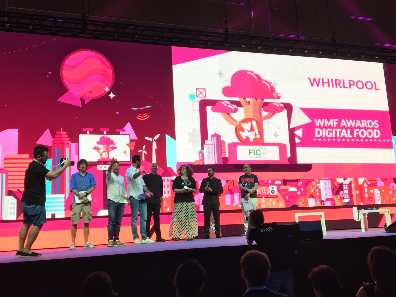 Whirlpool wins Web Marketing Festival award