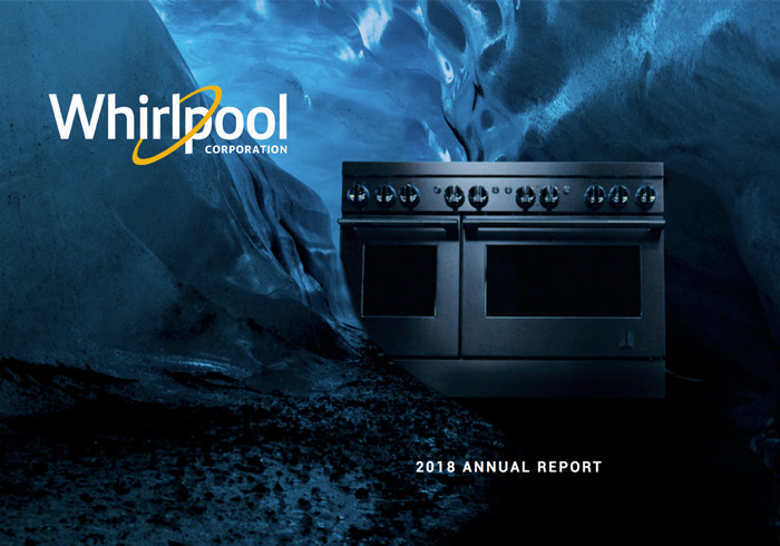 Whirlpool Corp Annual Report Cover - 2018
