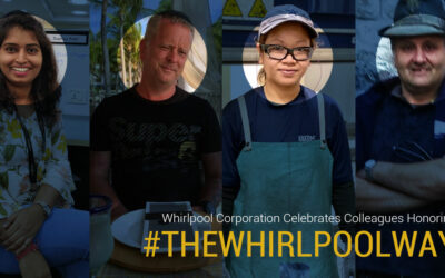 Whirlpool Corporation celebrates colleagues honoring #TheWhirlpoolWay during the coronavirus outbreak