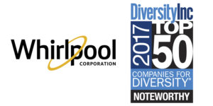 Whirlpool Corporation and Diversity Inc Top 50, 2017