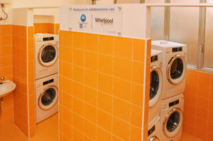 Pope Francis Laundry opens in Rome thanks to support from Whirlpool Corporation 1