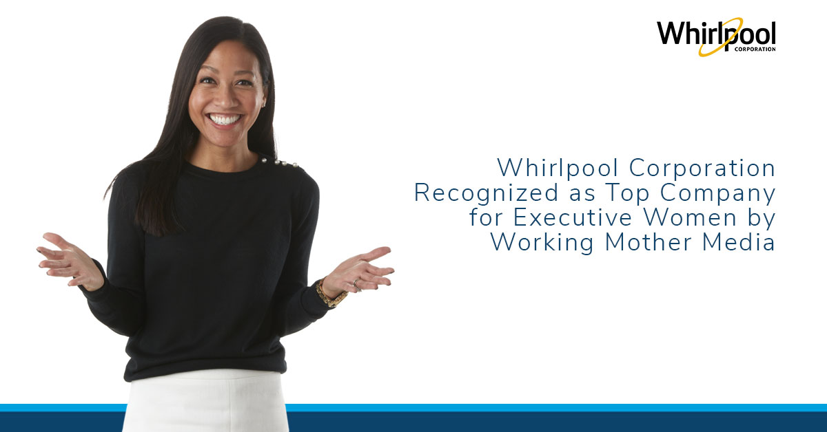 Whirlpool Top Company for executive women