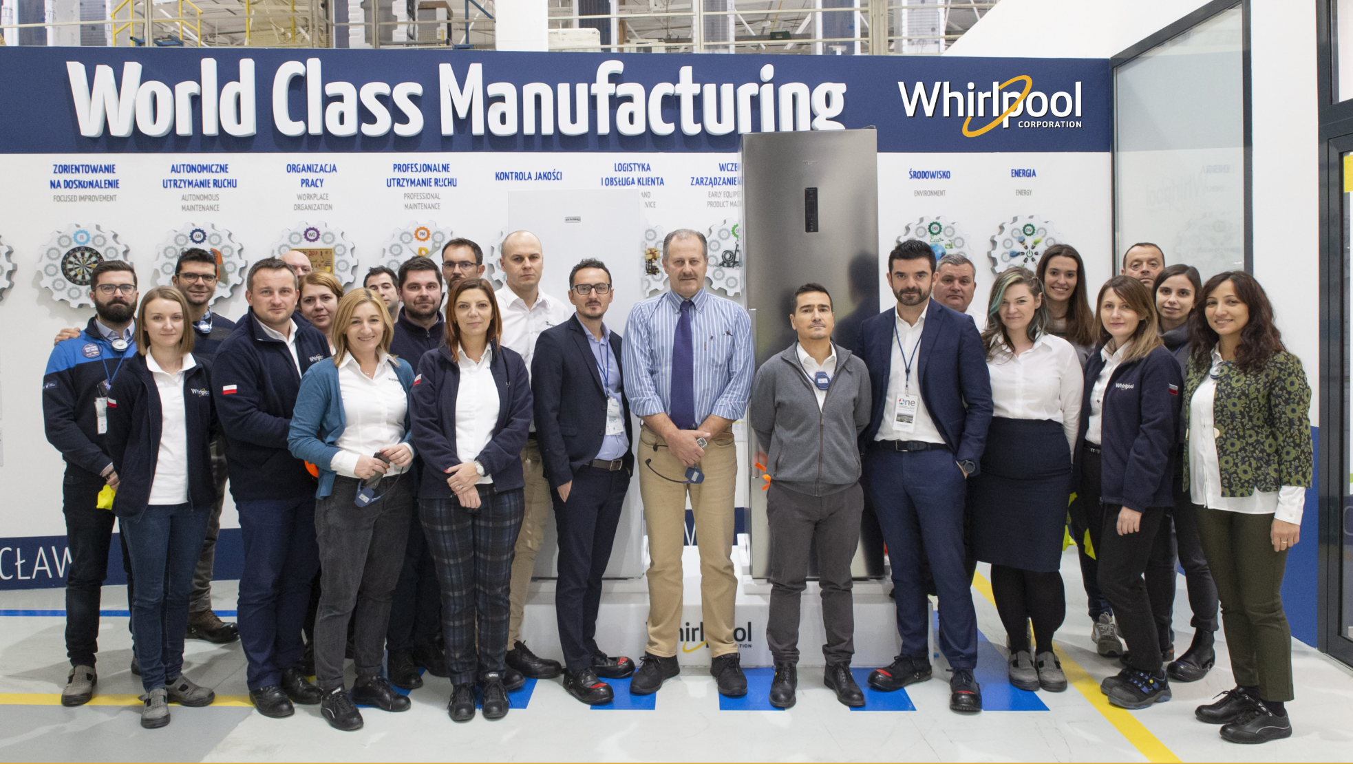 Wrocław Refrigeration Factory - World Class Manufacturing - Whirlpool