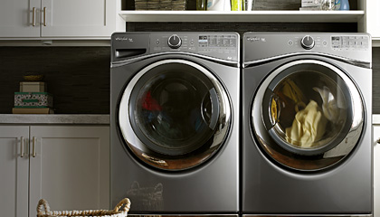 1st Large Capacity Front-Load Washer in the U.S.