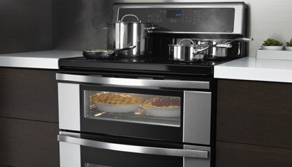 1st Induction Double Oven Freestanding Range