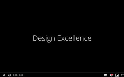 Design Innovation Series – Part 4: Design Excellence