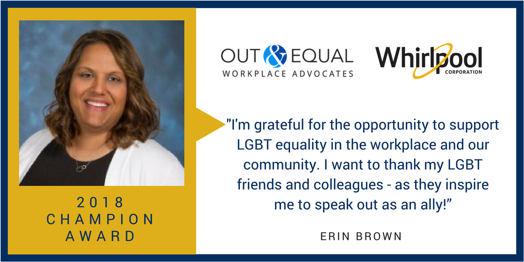 Erin Brown Honored as 2018 Out & Equal Champion Award Winner 3